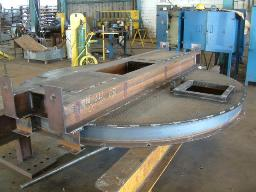 Plant Fabrication - Reactor Tank Lid