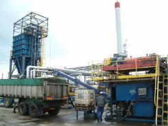 centrifuging for hydrocarbon recovery
